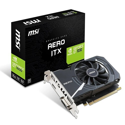 MSI GeForce GT 1030 2GB GDDR5 AERO