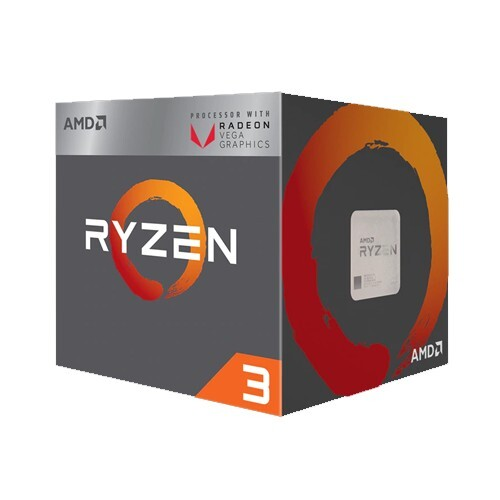 Ryzen 3 PRO 2200GE (Up to 3.6 GHz, 6MB)